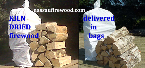 Nassau Firewood delivers Nassau KILN DRIED Firewood